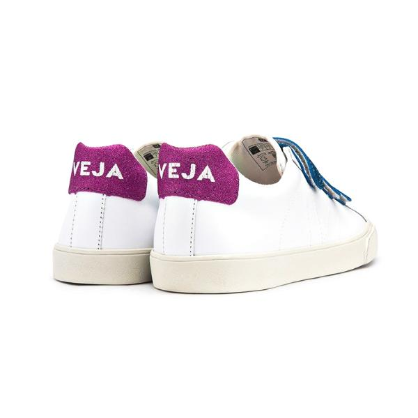 3-Lock Leather White Neon - VEJA Shoes