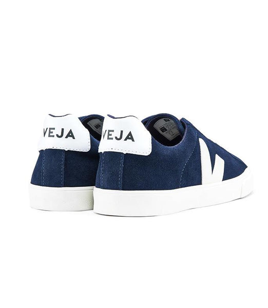 Esplar Low Suede Midnight Pierre - VEJA Shoes