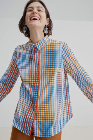 Everyday Shirt Painter Check - kowtow