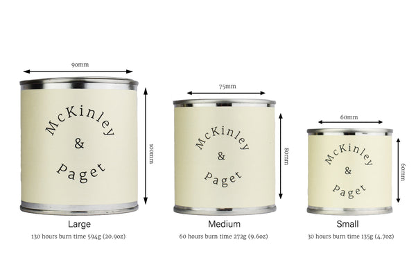 Scented Candle (Medium) - McKinley & Paget