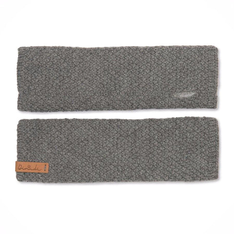 Stina Half Mittens (Pebble Grey) - Dinadi