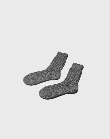 Heavy Sock (Grey Melange) - Klitmøller Collective