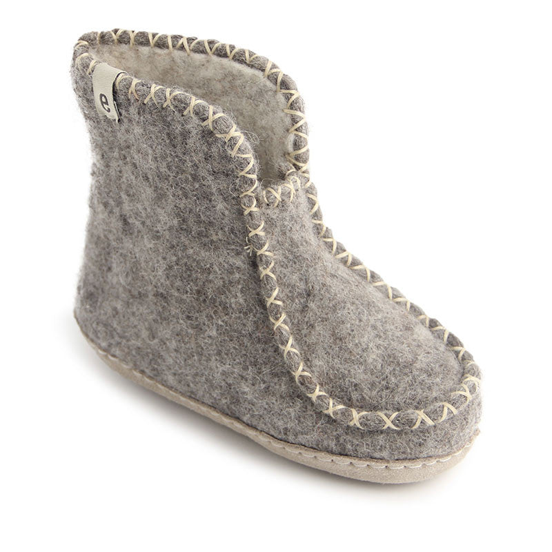 cc5cf7e435f Boot Comfy - fairtrade certified slippers in natural wool for kids ...
