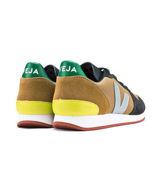 Holiday Low Top Tent Grafite Emeraude - VEJA Shoes