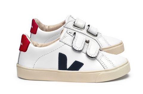Esplar Junior Leather White Nautico - VEJA Shoes