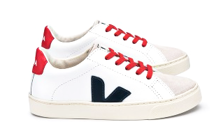 ESPLAR  JUNIOR SMALL LACE EXTRA WHITE NAUTICO - VEJA Shoes
