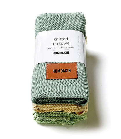 Knitted Kitchen Tea Towels (3 Pcs) - Humdakin