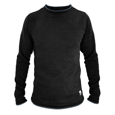 Lønnerup Men's Knit (Black/Blue) - ELSK