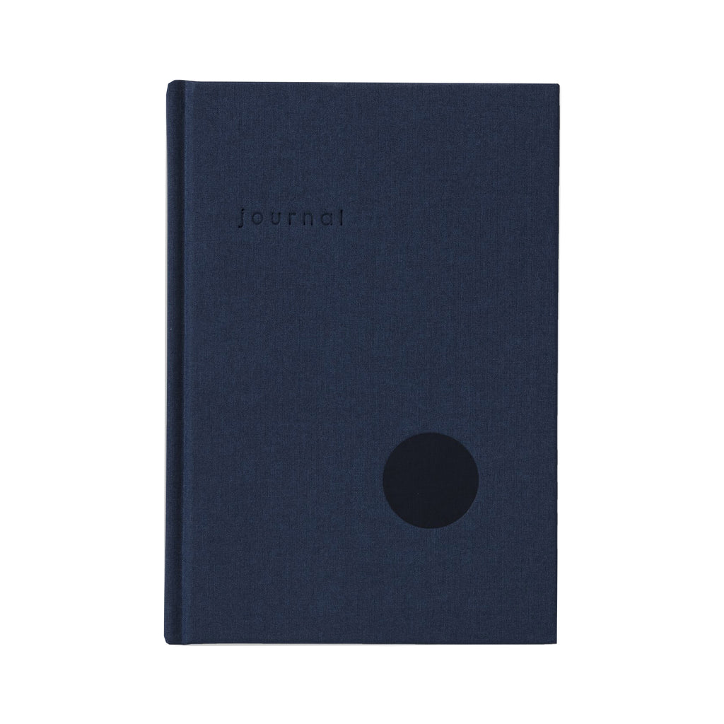 Hardcover Journal (Navy/Dot Grid) - Kartotek