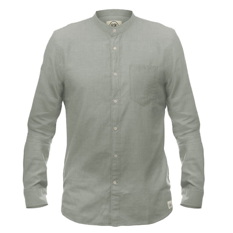 North Shore Sea Men's Shirt (Desert Green) - ELSK