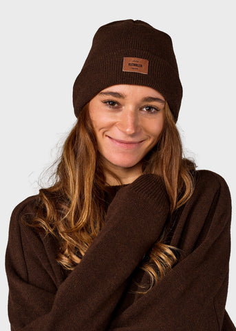 Heavy rib beanie (Earth) - Klitmøller Collective