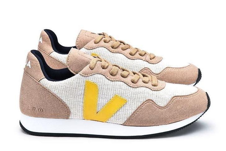 SDU J-Mesh Natural Miel Gold Yellow - VEJA Shoes