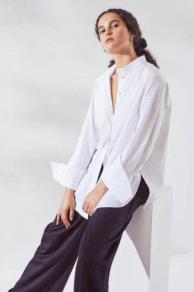Skyline Shirt (White) - Kowtow