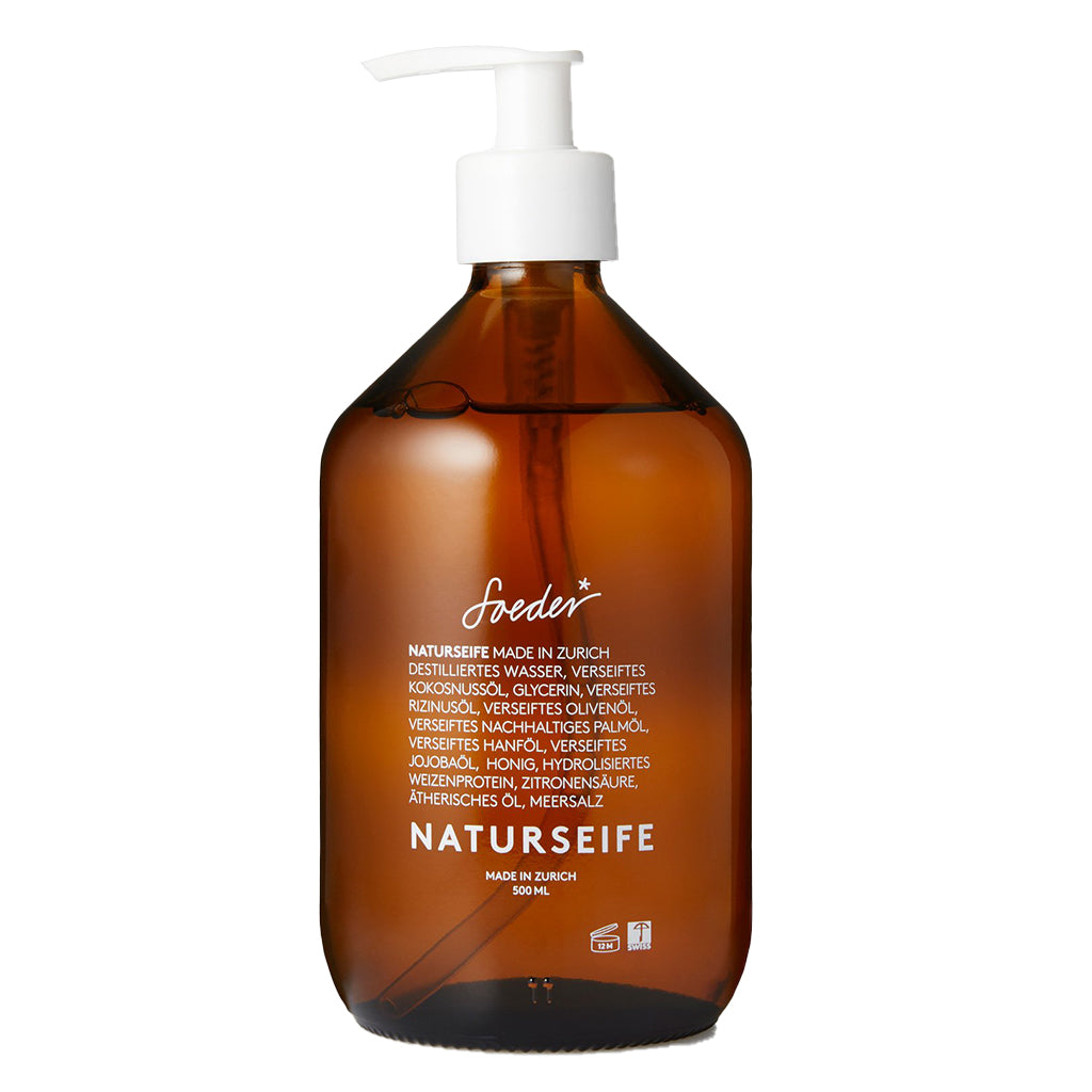 Natural Soap (Grapefruit 250/500ml) - Soeder*