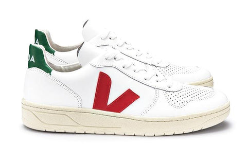 V10 Extra White Pekin Emeraude - VEJA Shoes