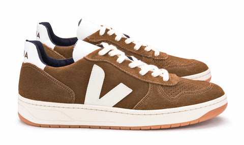 V10 Suede Brown Pierre - VEJA Shoes