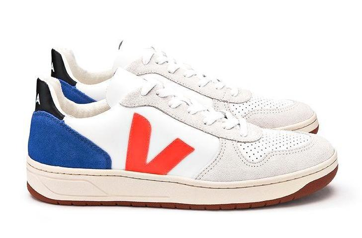 V10 Bastille Leather Bellerose - VEJA Shoes