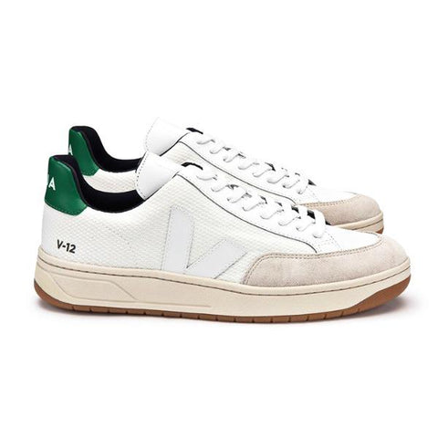 V-12 BMESH White Emeraude - VEJA Shoes