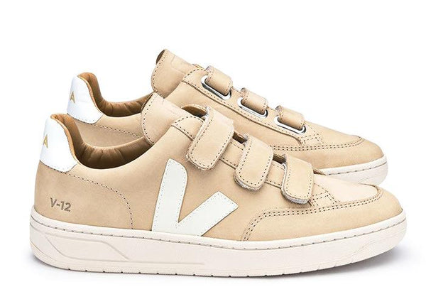 V12 Velcro Almond Pierre - VEJA Shoes