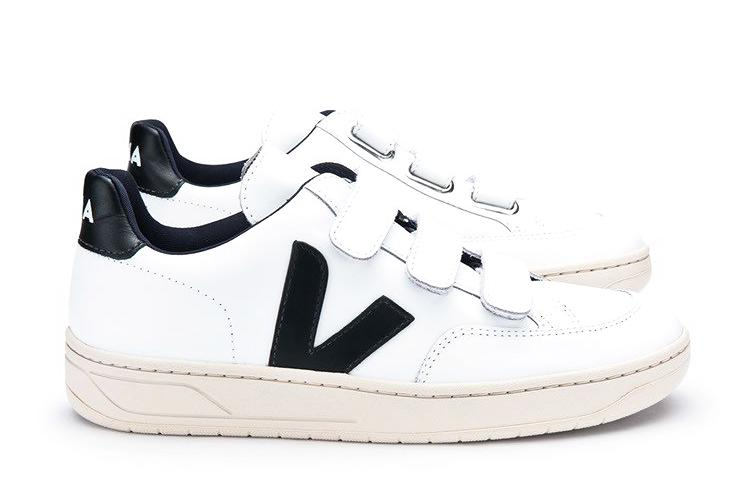 V12 Velcro Extra White Black WMNS - VEJA Shoes