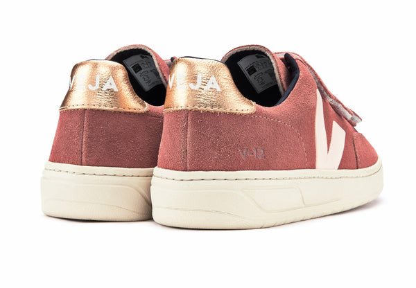 V12 Velcro Suede Dried Petal Venus - VEJA Shoes