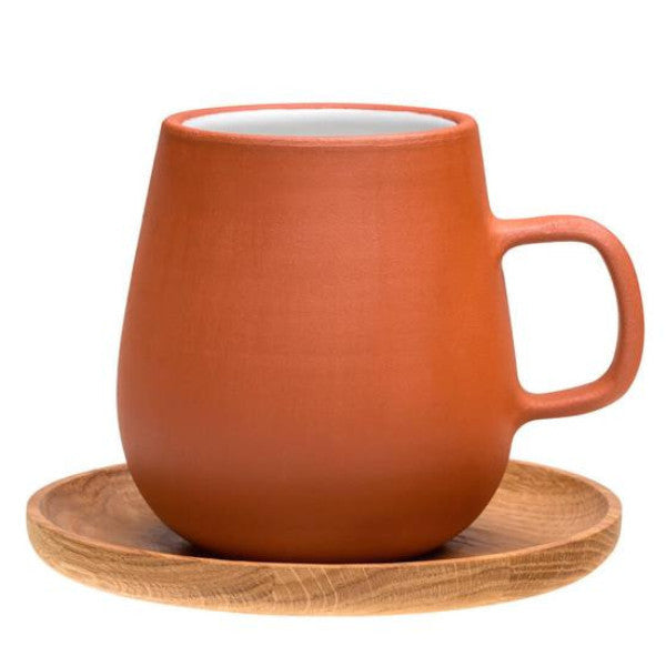 Mug with Wooden Saucer - Vaidava