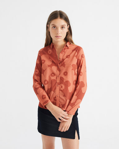 Big Flowers Teja Chamomile Blouse - Thinking MU