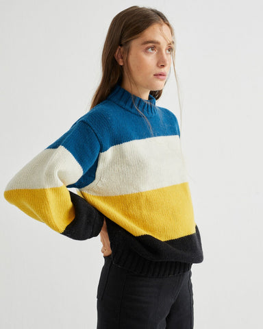 Lada Sweater (Yellow) - Thinking MU