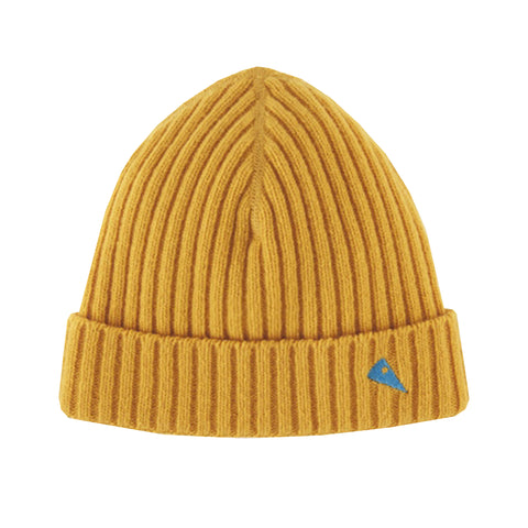 Barre Ripped Beanie (Yellow) - Klättermusen