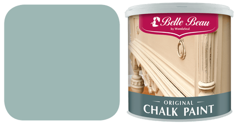 Belle Beau Original Chalk Paint 1L: Baroque Blue Colour