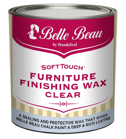 Belle Beau Chalk Paint Soft Touch Furniture Finishing Wax - 500g