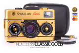 [SALE] กล้องฟิล์ม Rollei 35 Classic Gold  500 Unit Only [ค.ศ.1992] - สยามกล้องฟิล์ม