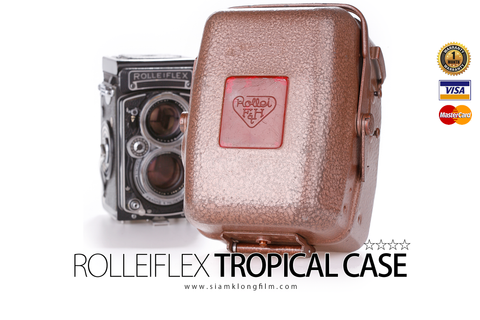 [SALE] Rolleiflex/Rolleicord Metal Tropical Case - สยามกล้องฟิล์ม