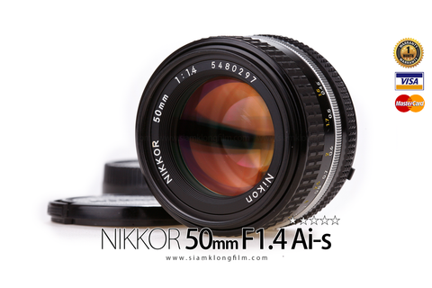 [SALE] Lens NIKKOR 50mm F1.4 Ai-s