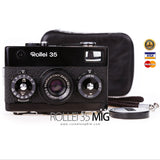 [SALE] กล้องฟิล์ม Rollei 35 ฺBlack Made In Germany (Honey Well)