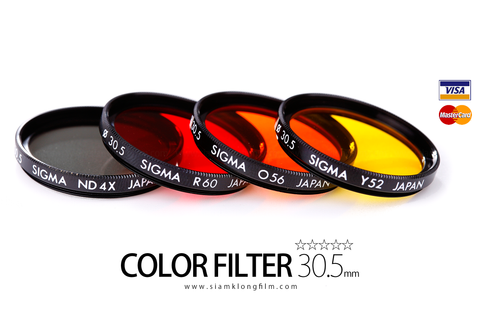 [SALE] Filter Color 30.5mm For Rollei 35 (ฟิวเตอร์สีสำหรับกล้องฟิล์ม Rollei 35) - สยามกล้องฟิล์ม