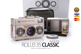 [SALE] กล้องฟิล์ม Rollei 35 Classic Platinum 1120  Unit Only  [ค.ศ.1990] - สยามกล้องฟิล์ม