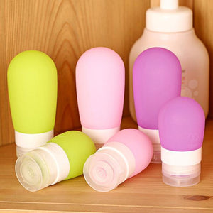 Silicone Refillable Bottles