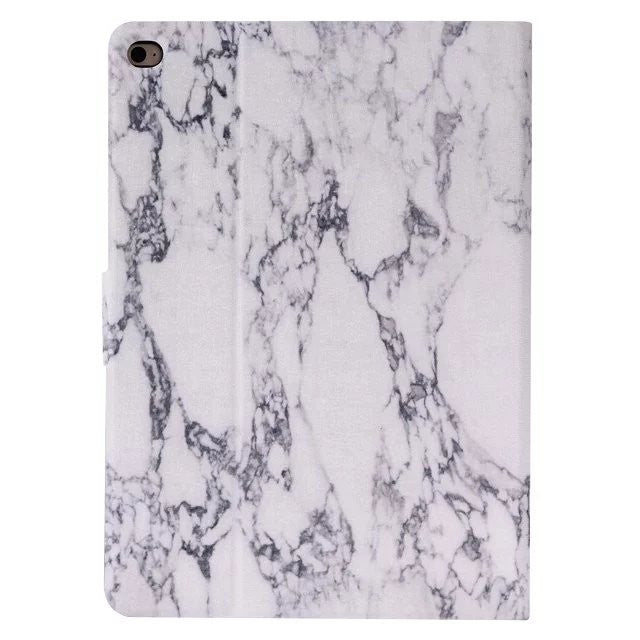 Marble Pattern PU iPad Case