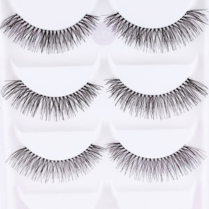 10 Pieces/Set Natural Sparse Eye Lashes