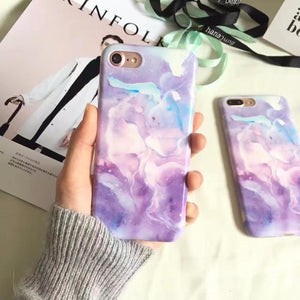 Fantasy Purple iPhone Case