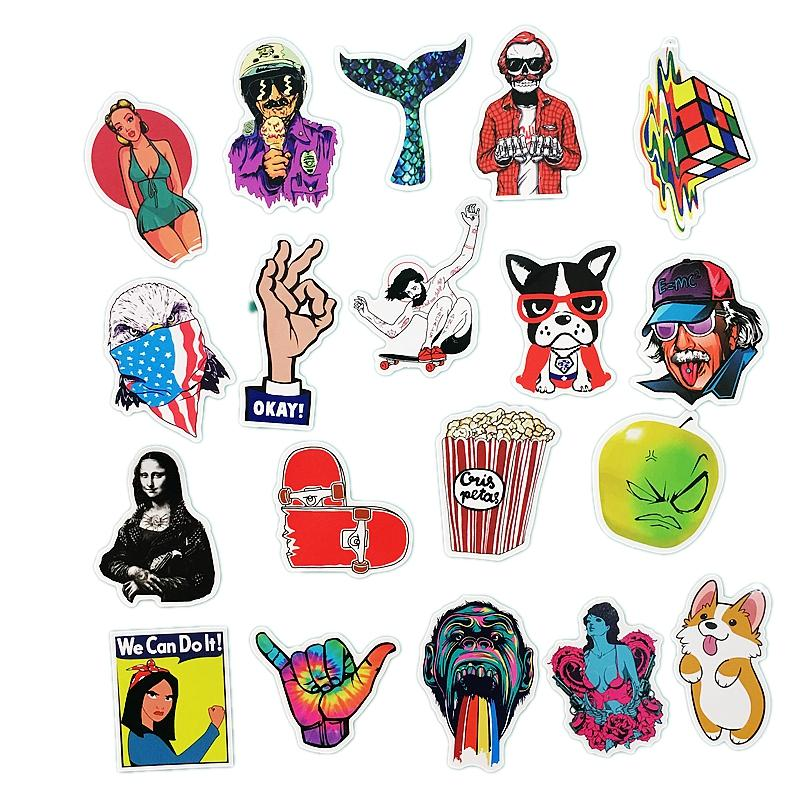 50 pcs/pack Miscellaneous Sticker