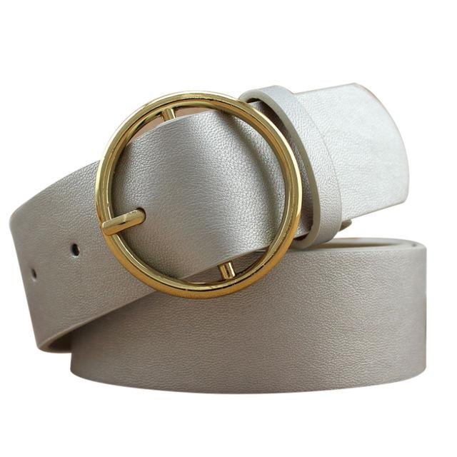 Circle Buckle Belts