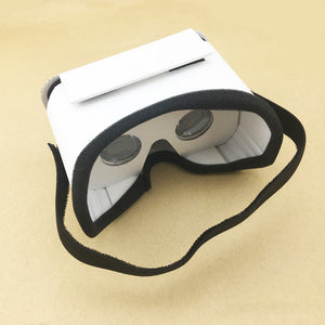 Virtual Reality White Cardboard Glasses