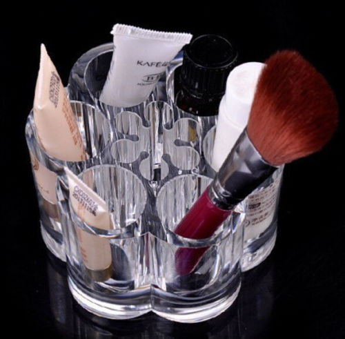 Crystal Make Up Container