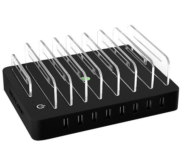 Charger Dock 5V  2.4A  |  8 USB Ports For Apple - Foenix Direct