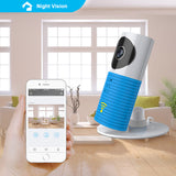 Mini Wireless wifi baby monitor with camera - Foenix Direct