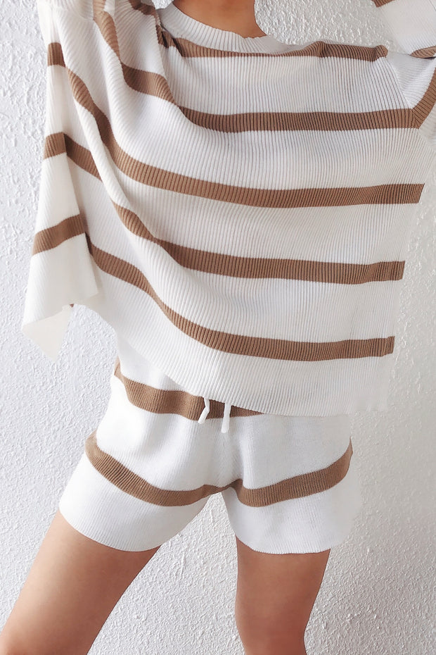Stripes Knitted Lounge Set