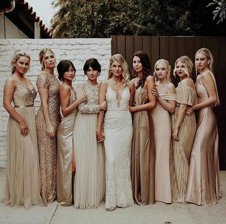 Gold Sequin Bridesmaid Dresses- Hot Trends and Tips of 2020