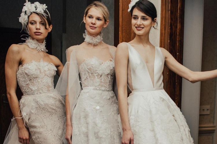 3 Sexy Wedding Dresses You Need to Try on before the D-Day